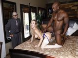 Cuckold Hubby Watch His Busty Blonde Bride Getting Fucked By BBC