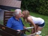 Gilty Young Gardener Apologize To The Old Grandpa In A Special Way