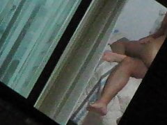 Couple Sex with lights on (Open Window) Part 04