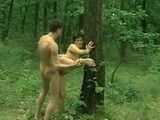 Mature Fucked Outdoor by Young Stud