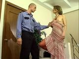 Naughty Russian Woman Seduce Police Officer