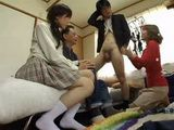 Sexual Education In Immoral Japanese Family