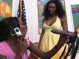 Black Lesbians Strapon Anal