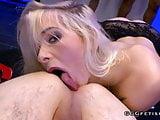 Ariella gives dicks sucking and ass licking