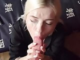 German girl sucks big cock