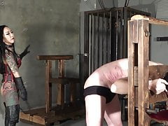 Japanese Dominatrix Youko Punishment Whipping