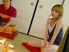 Japanese blonde, Hinata Aizawa likes to have position 69, un