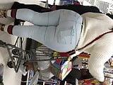 2 Big bootys in jeans pawg n ebony nice