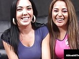 Anal drilled Penelope Piper & Megan Foxx Get Butt Fucked!