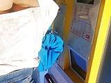 Ultra short micro skirt candid voyeur as cheeks upskirt