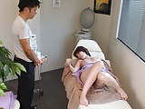 Japanese lady, Aya Kisaki liked the massage, uncensored