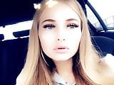 German Teen Daddy drives her Home