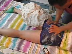 amazing ASS 176 masaje a teen culona