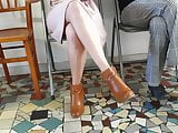 Candid legs sexy teen