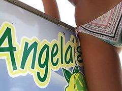 Lemonade girl at the beach is perfect.