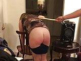 Bad girl bent over