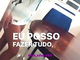 NinaCapelly Com Camisa Do Corinthians e Calcinha 2 2020 HD
