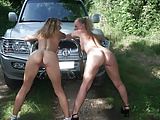 Lesbian teen perverted by hot milf
