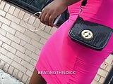 BBW MONSTER IN PINK DRESS