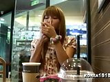 KOREA1818.COM - Horny Korean Girlfriend Filmed on Date