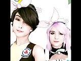 Sinastri and bunbun cosplay cute loop