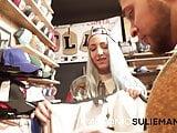 The clothes shop