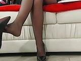 Sexy Foot Dangle Tease