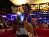 Coed Bull RIding Spring Break HOT