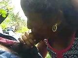 Village girl sucking first time in field