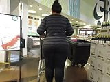 Mature Asian BBW with fat ass and legs in leggings