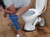Public toilet wife