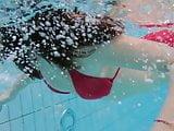 Hot tits Katy Soroka brunette teen underwater naked