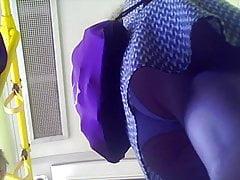 Up White Panties