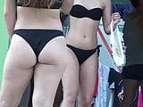 Beautiful Blonde Thong Butt Spy Cam