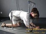 Asian girl in chain